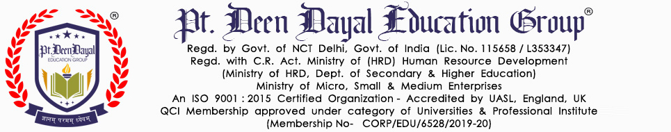 Pt. Deen Dayal Education Group
